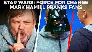 Download Mark Hamill Pranks Star Wars Fans with Epic Surprise for Force For Change Video