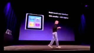 Download Apple Nano 6 -Steve Jobs Presentation - September 1 Video