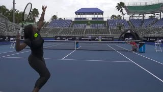 Download Tennis Trick Shots ft. Serena Williams | Dude Perfect Video