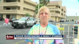 Download Woman dead after being stabbed by man Video