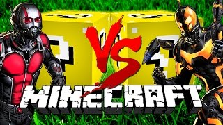 Download Minecraft: DIRTY LUCKY BLOCK CHALLENGE | Ant-Man VS Ant-Man Video