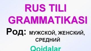 Download 2-dars. ROD (JINS). RUS TILI GRAMMATIKASI. Uzrustili Video