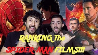 Download RANKING THE SPIDER-MAN FILMS!!! (Worst To Best) Video