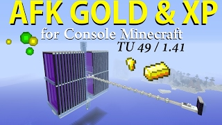 Download AFK Gold & XP Farm for Console Minecraft TU48 / 1.41 ( Tutorial ) Video
