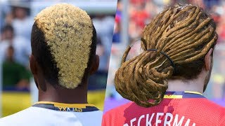 Download FIFA 18 Craziest Hairstyles FT. Neymar, Zardes, Beckerman... etc Video