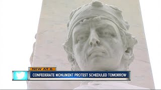 Download Confederate Monument protest Video