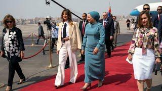 Download ميلانيا ترامب تختتم جولتها الإفريقية في مصر Video