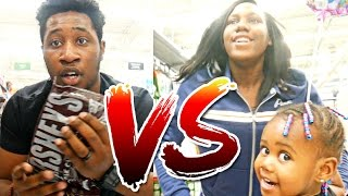Download BOYS VS GIRLS SUPER WALMART SCAVENGER HUNT CHALLENGE! 👦🏾🔥👧🏾 Video