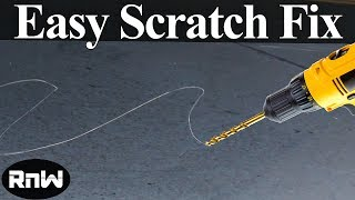 Download DIY Scratch Repair Using Your Drill Video