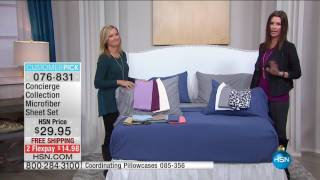 Download HSN | HSN Today: Concierge Collection Bedding 11.04.2016 - 08 AM Video