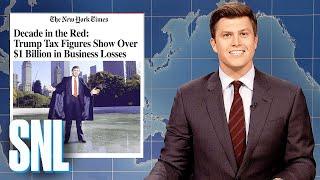 Download Weekend Update: Trump Lost Over $1 Billion - SNL Video