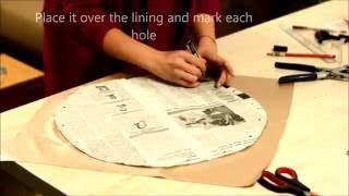 Download DIY circle handbag Video