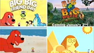 Download PBS Kids BIG BIG FRIEND DAY Interstitials (2005 WFWA-TV) Video