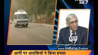 Download 2 soldiers injured in a grenade attack by terrorists in J&K's Nagrota Video