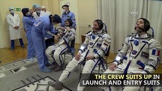 Download Expedition 50 Suits Up and Launches Video