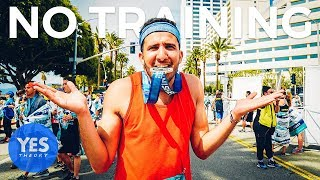 Download SAYING YES TO RUNNING A MARATHON WITH NO TRAINING - Is it possible? Video