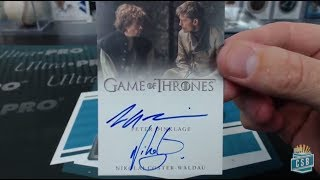 Download 2017 Rittenhouse Game Of Thrones Valyrian Steel 5 Box Case Break #1 Drafted Hit Video