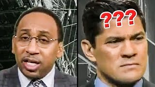 Download Stephen A. Smith Blows Tedy Bruschi's Mind Video