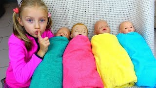 Download Are you sleeping brother John and more kids video By Polina and baby dolls Video