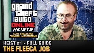 Download GTA Online Heist #1 - The Fleeca Job (Elite Challenge & Criminal Mastermind) Video