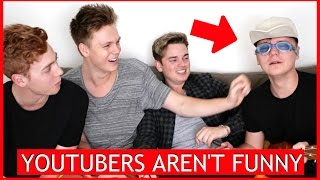 Download YOUTUBERS AREN'T FUNNY 3 ft. Conor Maynard, Jack Maynard & Josh Pieters Video