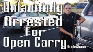 Download Open Carry: Veteran Unlawfully Disarmed, Detained & Arrested | OnTheMoveShow Video