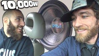 Download 2 18″ Subs on 10,000 Watts w/ EXO's Walled Off PSI Platform 5 Subwoofers & LOUD Door Speakers Video