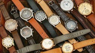 Download Vintage Omega, Rolex, Seiko Watch Shopping at flea market in Hong Kong China Video