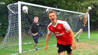 Download FOOTBALL CHALLENGES WITH THE WORLD'S BEST GOALKEEPERS Video