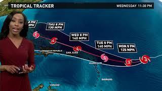 Download Hurricane Irma Outlook 11 p.m. Sunday, September 3, 2017 Video