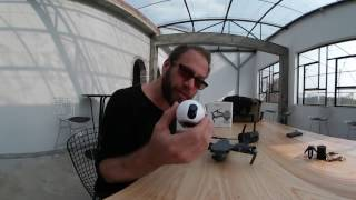 Download Attaching a Gear 360 Camera to a Mavic Pro Drone + Sample 360 Video Footage Video
