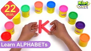 Download Play and Learn ALPHABETS with Play Doh for Children   Play-doh ABC for Kids Video