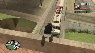 Download GTA San Andreas - Wrong Side of the Tracks - Big Smoke mission 3 - Method #6 - LV Gym Moves Video