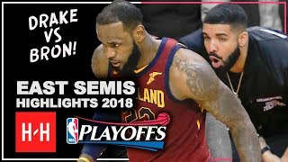 Download LeBron James Full Series Highlights vs Toronto Raptors 2018 Playoffs ESCF - LeBronto vs Drake! Video
