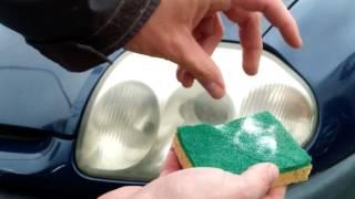 Download Comment nettoyer des phares ternes pour presque zéro euro Video