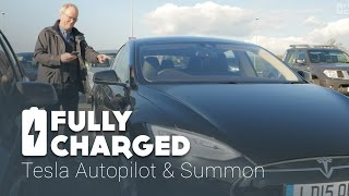 Download Tesla Autopilot - Summon   Fully Charged Video