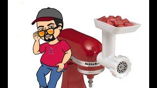Download KitchenAid Meat Grinder Attachment Video