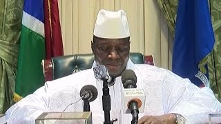 Download Gambia's Yahya Jammeh leaves power after 22 years Video