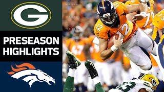 Download Packers vs. Broncos | NFL Preseason Week 3 Game Highlights Video