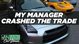 Download My manager crashed the trade during a car deal Video