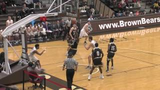 Download Highlights: Tavon Blackmon's Layup with 3.8 Seconds Remaining Lifts Brown Over Bryant, 91-90 Video