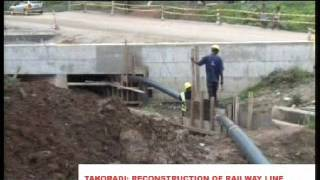 Download Reconstruction Of Railway Line In The Western Region Video