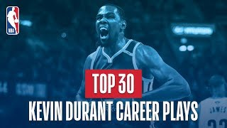 Download Kevin Durant's Top 30 Plays of His NBA Career Video