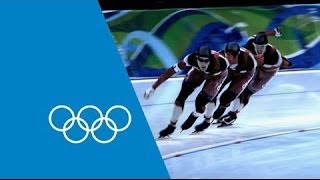 Download Science In Sport - Team Pursuit Speed Skating   Faster Higher Stronger Video