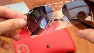 Download Ray Ban polarised aviator sunglasses (original) Video