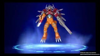 Download Digimon story cyber sleuth Ps4 ShineGreymon Digivolve list Video