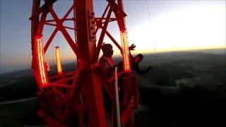 Download Sunset Climb at Donebach, Germany (363m)   highDudes Video