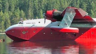 Download Martin Mars Water Bomber Engine Start Up Video
