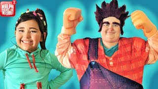 Download Makeup and Costumes Wreck it Ralph 2 Part 1 Video