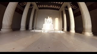Download 360 Video: Underneath the Lincoln Memorial Video